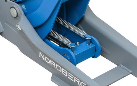 Подкатный домкрат, г/п 3,5 тонны NORDBERG N32036