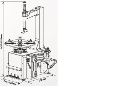 Шиномонтажный станок СИВИК КС-301A (220В)