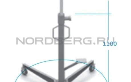 Стойка трансмиссионная гидравлическая, г/п 500 кг NORDBERG N3405