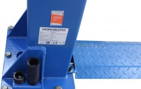 Подъемник двухстоечный, г/п 4 тонны NORDBERG N4120A-4T