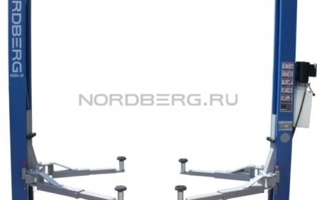 Подъемник двухстоечный, г/п 4 тонны NORDBERG 4122A-4T