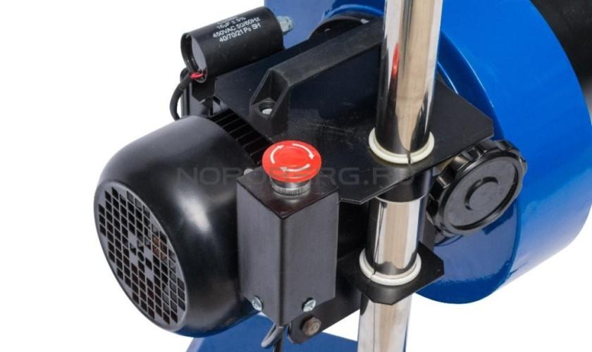 УСТАНОВКА 220В мобильная для сбора выхлопных газов 0,5кВт