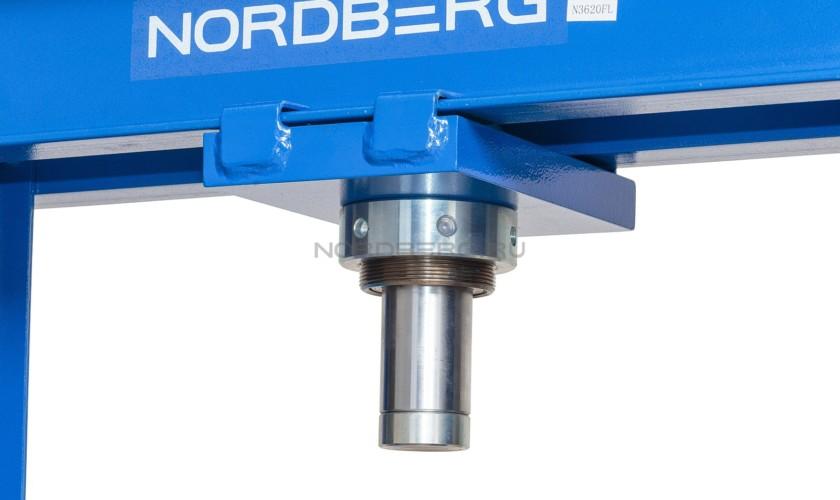 Пресс с ножным приводом, усилие 20 тонн NORDBERG ECO N3620FL