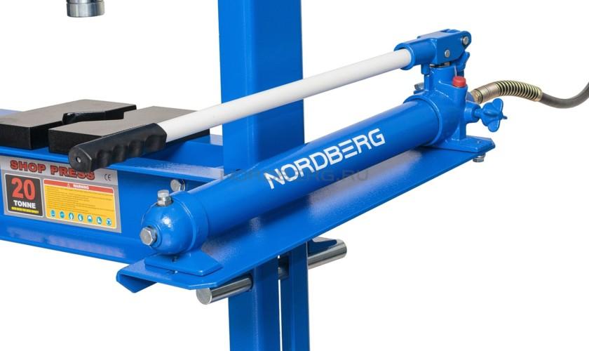Пресс, усилие 20 тонн NORDBERG ECO N3620L