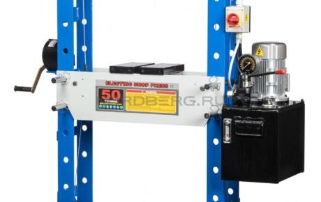 Пресс электрогидравлический, усилие 50 тонн NORDBERG N3650E