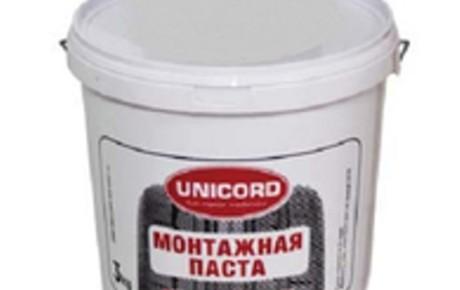 UNICORD Паста монтажная 3 кг.