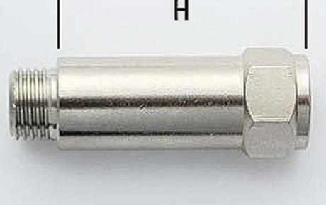 соединения для компрессоров 1/4х1/4 Н.27 удлиненный ART.58RP