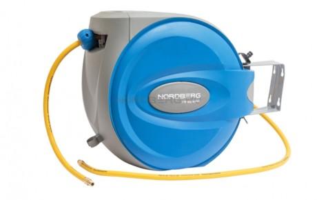Пневматический шланг бобина на самоскручивающийся катушке, 30 м NORDBERG HR1030HPVC