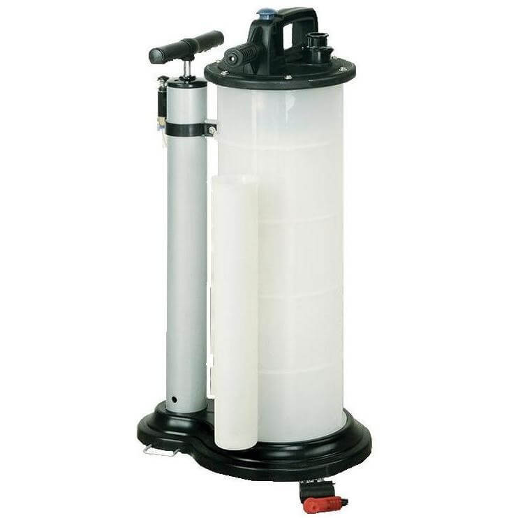 Установка для откачки масла с двумя режимами (ручной и пневматический), 9 л LUBEWORKS 16300901
