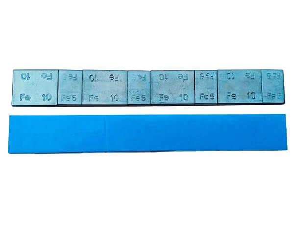 Груза балансировочные самоклей ferrum стальной легковой