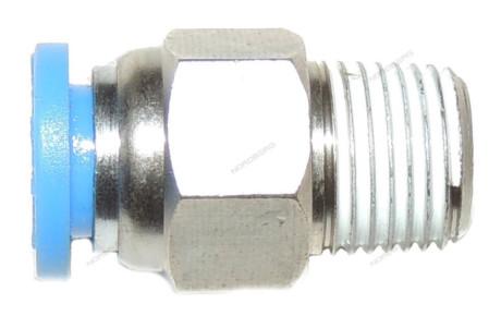 Цанговый переходник для клапана прямой D6 1/8″ для 4639 NORDBERG C.01.04.FPC 6-01