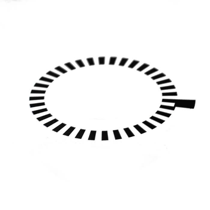 Наклейка ротора для балансировочного станка сторм