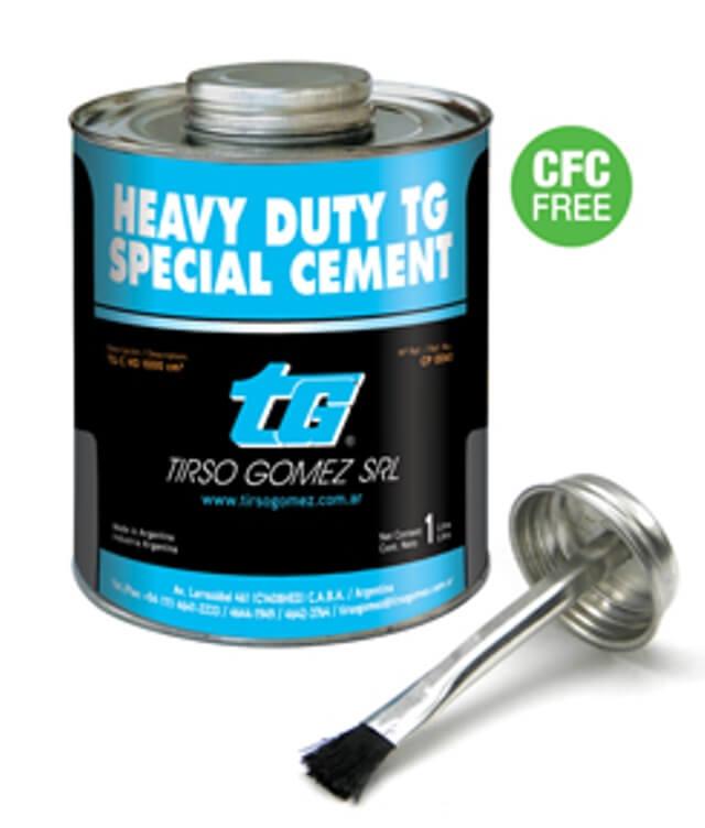 Клей TG-C HD синий усиленный, с кистью (Heavy Duty  TG Special Cement).
